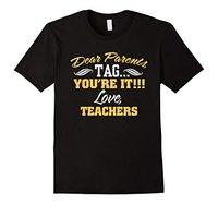 Beste Ouders Tag je Het Liefde Leraren Grappige T-shirt geschenken Vrouwen T-Shirts Fashion 2017 Vrouwen Katoen Casual Shirt TOP TEE