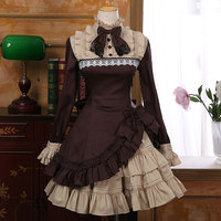 Gothic Lolita Princess Dresses Vintage Women Dress Lolita Party Clothing Costumes