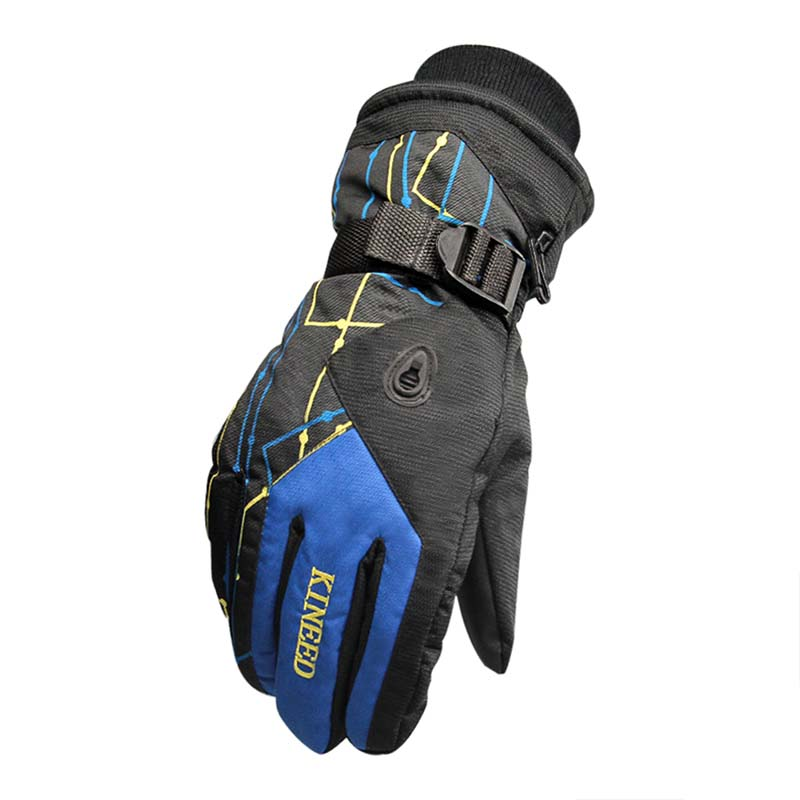 New 2017 Outdoor Windproof Wear Resistant Riding Ski Gloves Personalized Mountain Skiing Snowmobile Motorcycle Gloves
