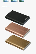 Aluminum 2.5 inch Sata HDD Hard Drive Hard Disk/500G HDD/1TB HDD/2TB HDD Including Black/Golden/Pink Golden Optional