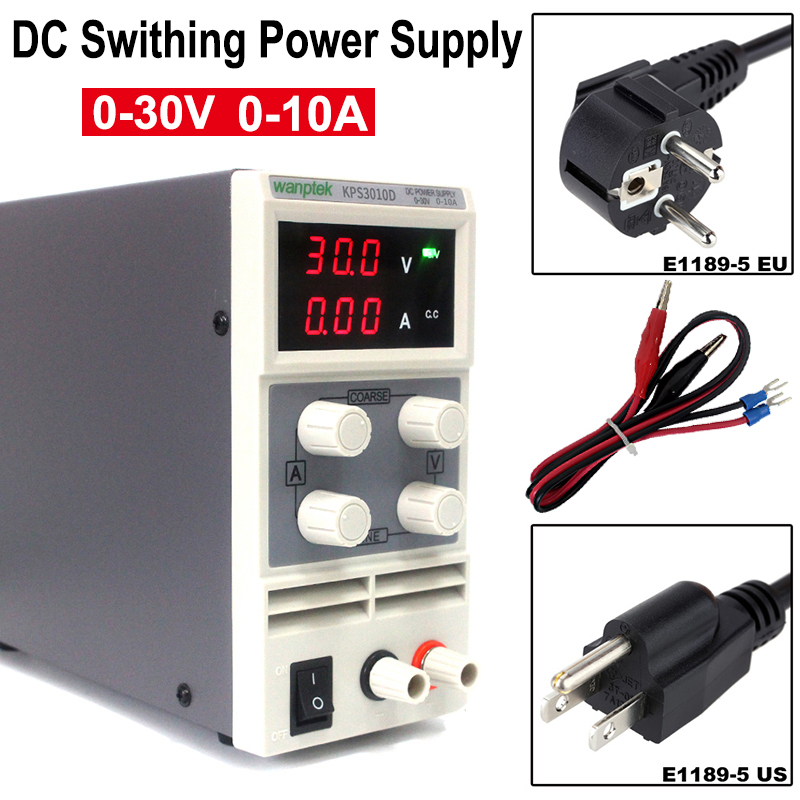 KPS3010D Digital DC Power Supply Precision Variable30V10A DC Swithing Power Regulated Laboratory Power Supply