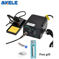 936 Soldering Station Anti Static Adjustable Temperature Electric Iron Welding Soldering Rework Repair Tool 220V 110V