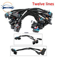 VODIA 12 Cables EIS ELV Test Cables for MB Works Together with VVDI MB BGA Tool with Gateway 164 209 211 adapter Auto Key Programmers Automobiles & Motorcycles -