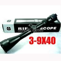 HOT!NEW 3 9x40 Hunting Scopes 4 16x40 Optics Rifle Scopes 6 24x50 Tactical Sniper Scope Airsoft Air Guns Weapon Riflescope
