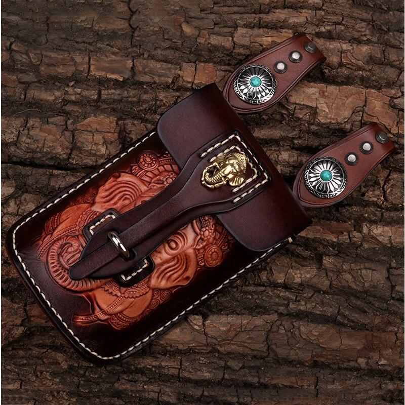Уникальный Стиль мобильный телефон сумка ручной работы из кожи высокого качества производства для apple iphone x huawei p20lite косой крест посылка