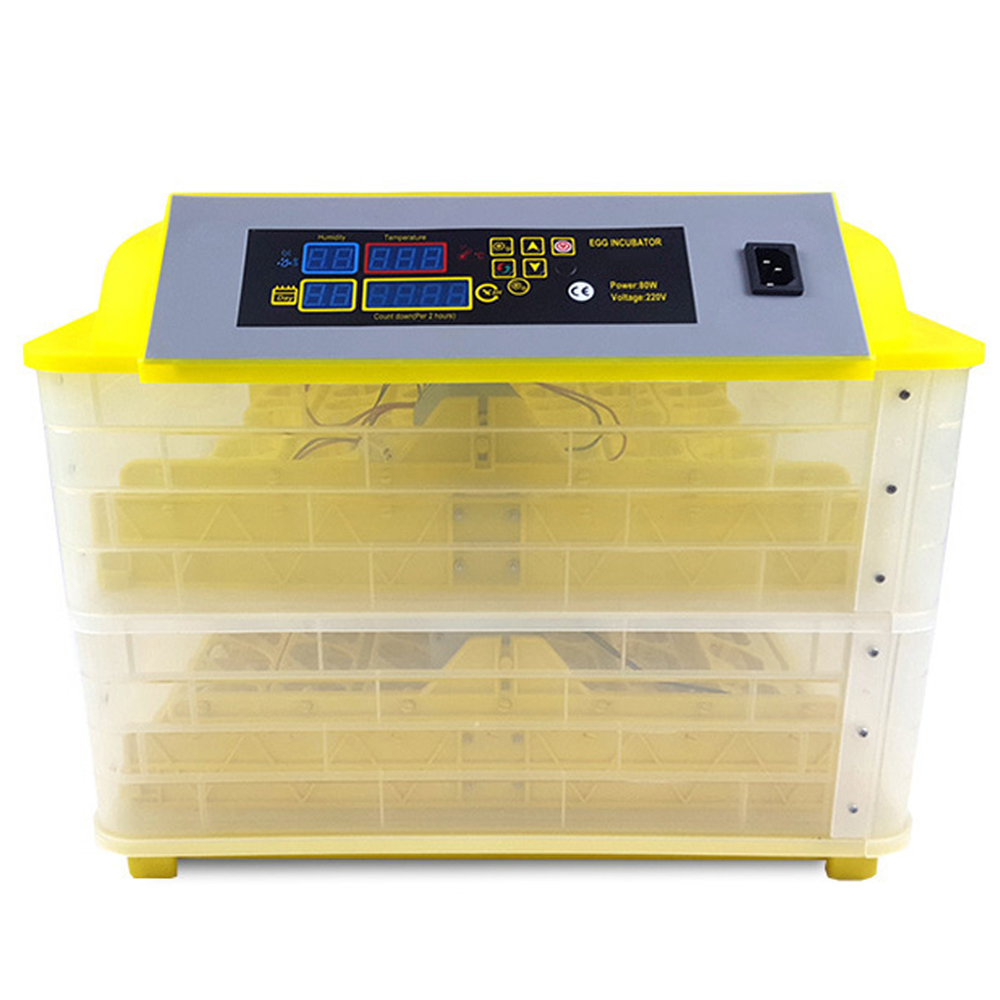 Automatic Egg Incubator Poultry Farming Equipment 96 Chicken Brooder Hatching Tools Household Egg Hatchery