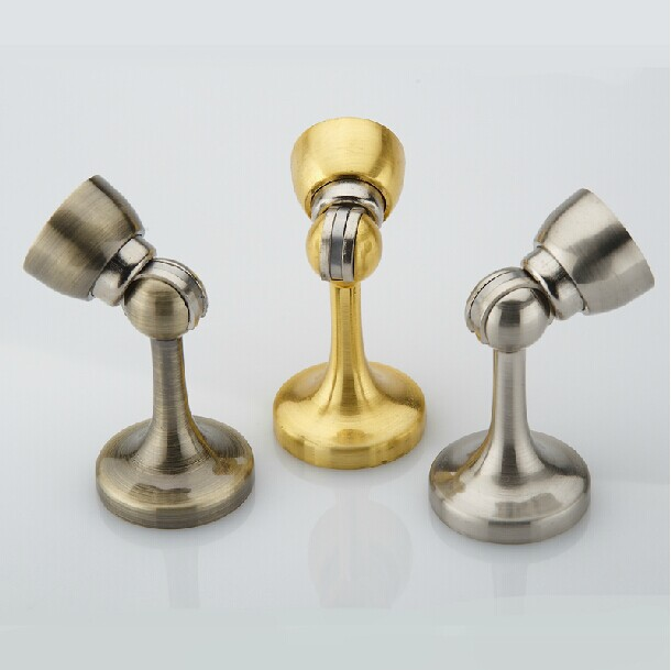 High Quality Zinc Alloy Door Stops ,Satin Nickel Stain Gold ,Antique Brass Restroom, Kitchen Bedroom Door Stopper floor knob потолочная люстра globo tieka 56185 3d
