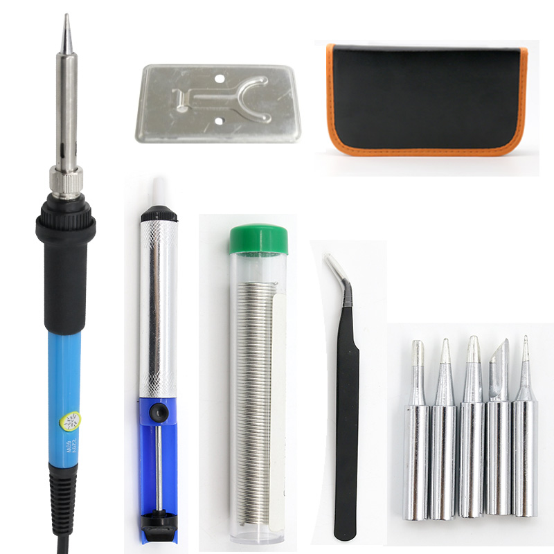 High Quality Direct Selling 11 Sets Of Electric Soldering Iron Suit Adjustable Temperature Electric Soldering Iron Suit
