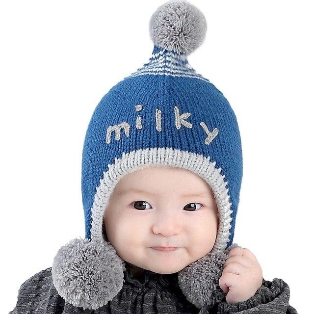 Babykappe Warme Baby Beanie Mütze Für Kinder Jungen Mädchen Häkeln ...