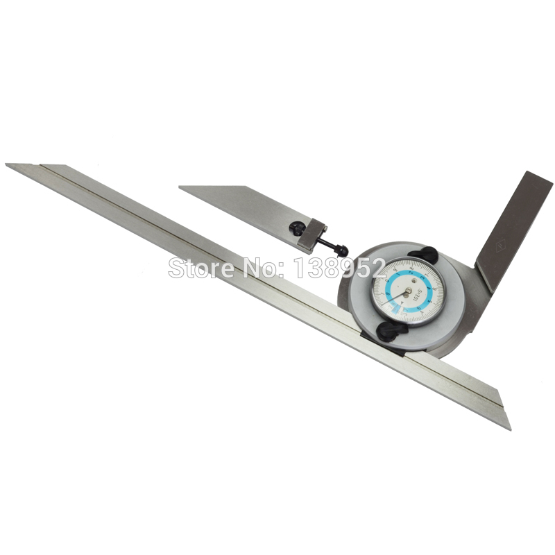 0 360 Degree Universal Bevel Protractor Stainless Steel Bevel Protractor With Dial Precision Angle Measuring Tools