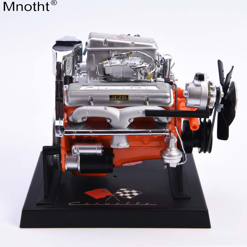Mnotht 1:6 soldier scene platform Corvette Engine Model V8 engine car toys for 12in soldier Action Figure Collection m3n