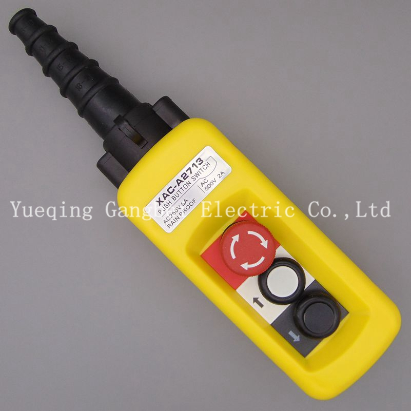 XAC-A2713 crane switch up and down the lifting up and down the button switch emergency stop switch button up tailcoat