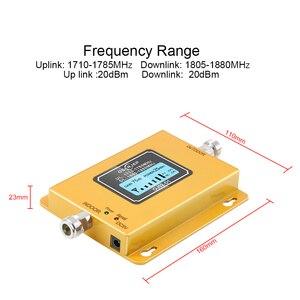 Image 3 - Gsm Lte 1800 Booster affichage LCD 70dB Gain 2g 4g LTE Booster de téléphone portable DCS 1800 MHz ninclut pas dantenne