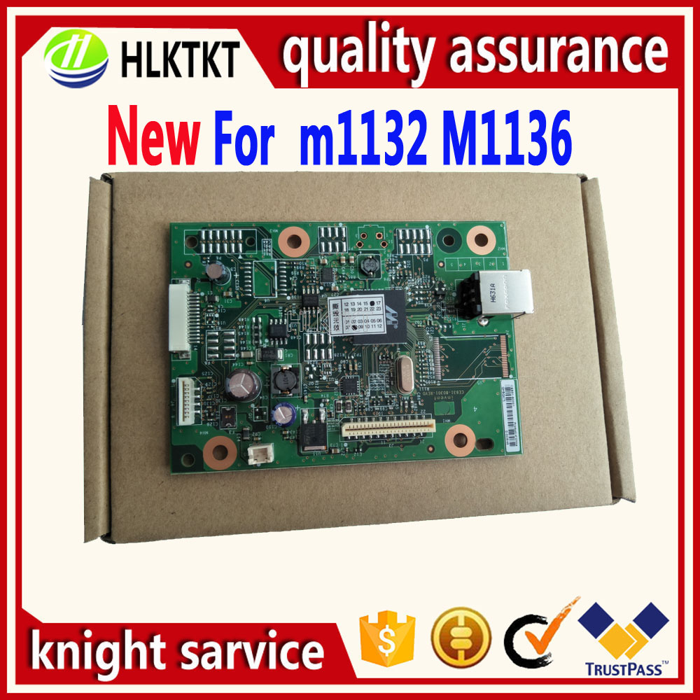 new CB409-60001 CE831-60001 CZ172-60001 Formatter Board for hp M1136 M1132 M1132mfp 1132mfp 1132 1020 1018 M125A 125A M125 M126A free shipping ce831 60001 laserjet pro m1132 1215 1212formatter board 125a pressure roller printer parts on sale
