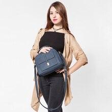LOVEVOOK brand women shoulder crossbody bag female messenger laptop bags high quality retro ladies handbag flap printing large