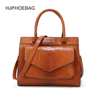 HJPHOEBAG New Woman Bag luxury handbags Women's leather Handbags With pouch Ladies Trunk Tote bolsos Women messenger bag YC035