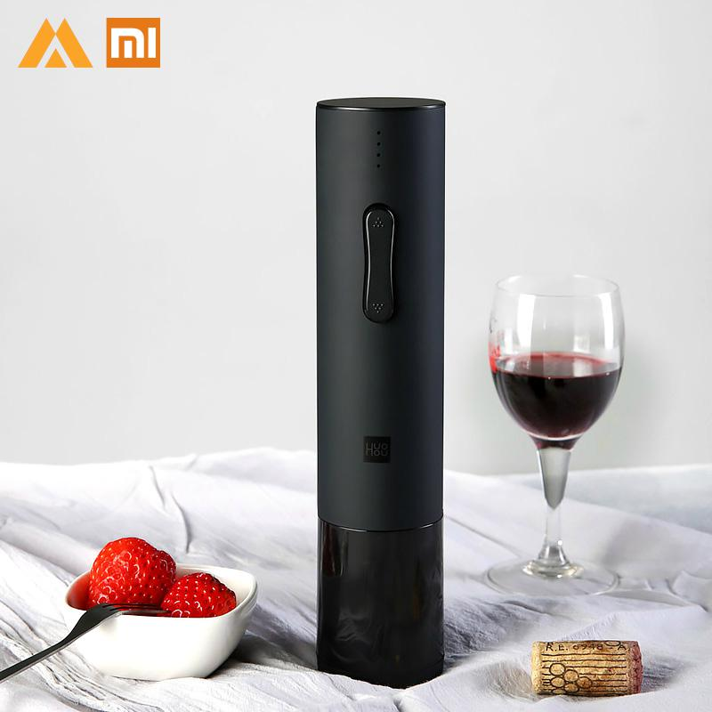 Xiaomi Mijia Electric Wine Opener HUOHUO Xiao Mi Wine Accessories Xioami for wine electric wine bottle opener xiami xaomi xoami