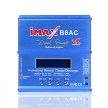 80 W IMAX RC Balance de La Batería Del Cargador B6 AC B6AC Nimh Nicd Batería de litio Cargador Del Balance Del Descargador con LCD Digital pantalla