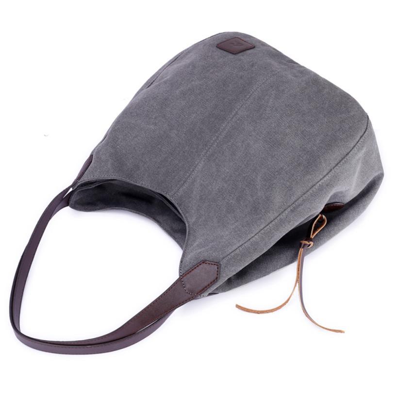 Best Zipper Totes Handbags Women's Canvas Handbags Vintage Hobos Single Shoulder Bags #Y