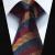 """Festa de Casamento Clássico Quadrado Bolso Gravata TZS03Z8 Marrom Listrado Azul 3.4 """"Homens Gravata de Seda Gravata Lenço Abotoaduras Set"""