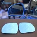 SmRKE 2 pièces pour Audi Q3 rétroviseur bleu lunettes grand angle LED clignotants lumière puissance chauffage|mirror rearview|wide angle rearview mirror|wide angle mirror -