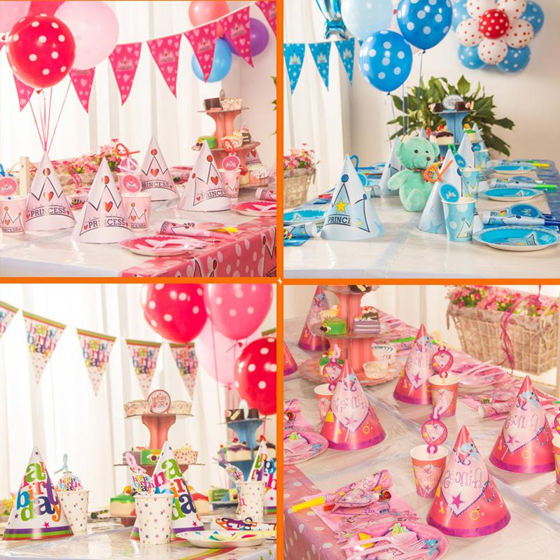 Birthday Party Decorations Kids Paper Cotillon Cumpleanos