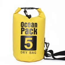 2L 5L PVC Water Proof Ocean Pack Dry Bag Pouch For Waterproof Impermeable Swimming Swim Pool River Trekking Beach Bag Sporttas 12l inflatable pvc hermetic dry waterproof bag pouch ocean pack for swimming water proof bag impermeable backpack swim buoy