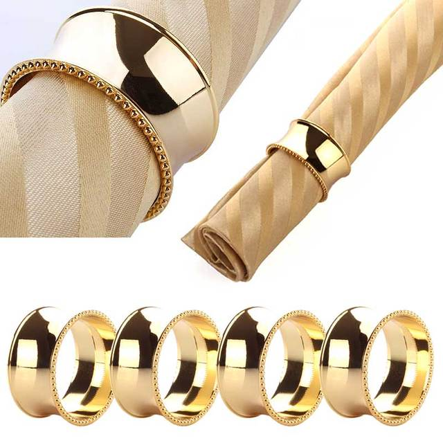 Stainless Steel Napkin Rings