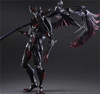 Play Arts Kai Monster Hunter Ultimate Evil Aromor Devil Monster Hunster 4G 27cm Variant Play Art KAI PVC Action Figure Toy Kid