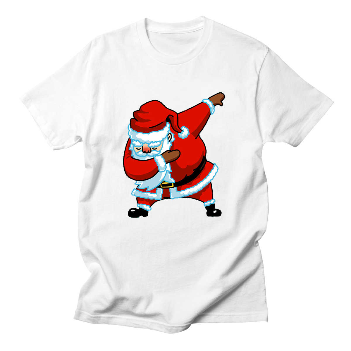 7048ca4ad LettBao Santa Gingerbread Man Design Men's T-Shirt Christmas New Year Gift  Cotton Print Tee
