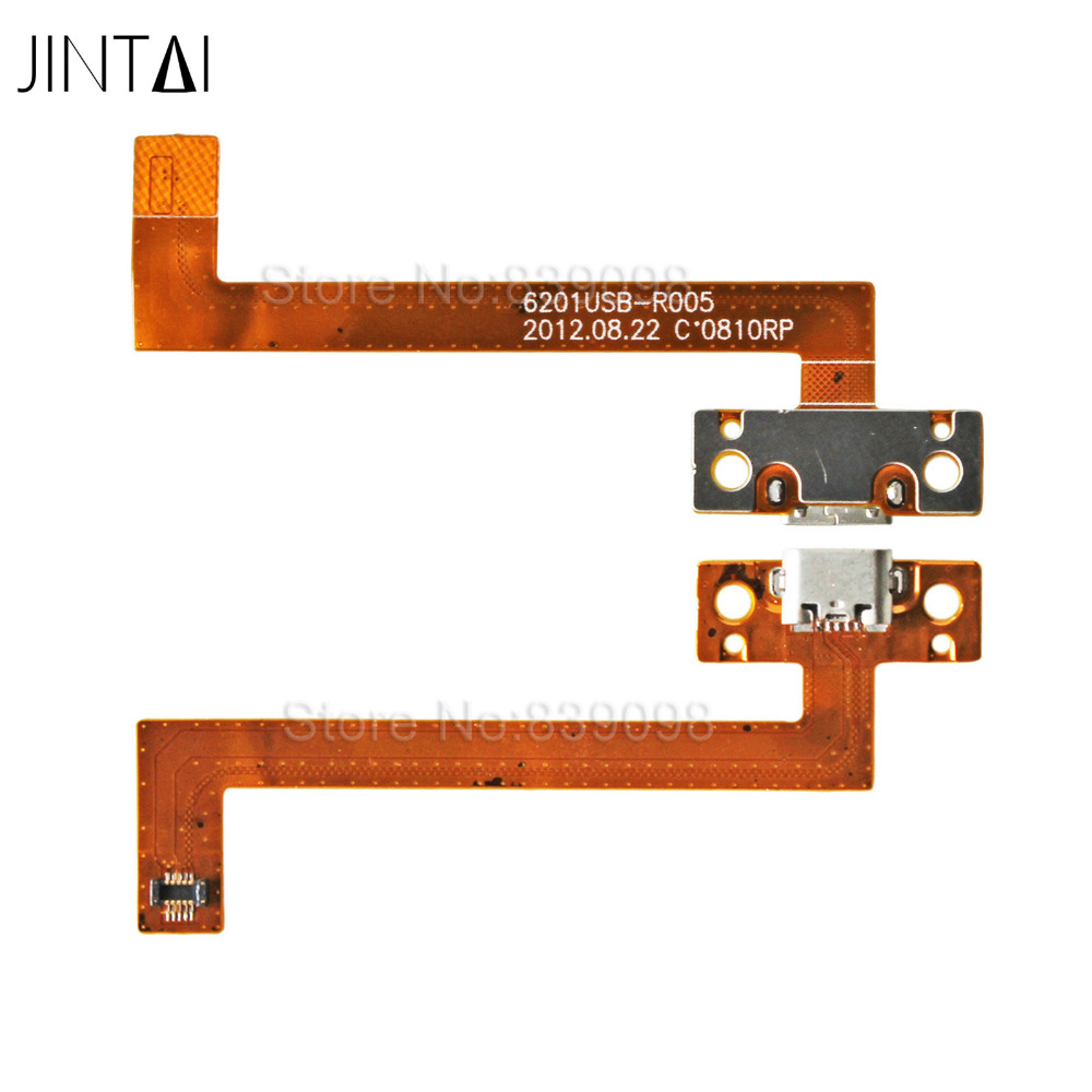10pcs Jintai USB Charging Port Dock Connector Flex Cable For Kobo Arc K107 7 eReader Tablet