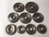 Free Shipping 9pcs/set CJ0618 household small lathe, micro lathe gear, metal exchange gear