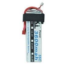 2pcs/lot XXL Power rc Lipo Battery 2S 7.4V 3600mah 35C Max 70C Toys & Hobbies For Helicopters RC Models Li-polymer Battery