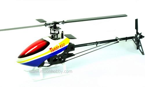 Tarot 450 Pro Kit RC helicóptero Trex 450 Barebone Clone TL20003 envío gratis con seguimiento