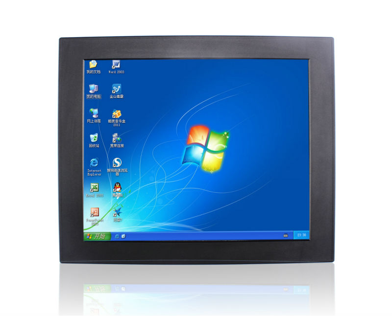 19.0 inch I3 4130T Industrial Panel PC Touch screen all in one panel pc 2PCI expansion Ports