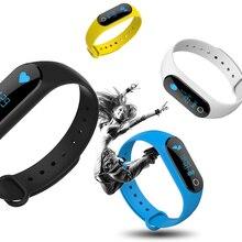 Смарт-браслеты IP67 Водонепроницаемый M6S Смарт Часы Heart Rate Мониторы SmartBand анти-потерянный напомнить смарт-браслет для Android/ IOS