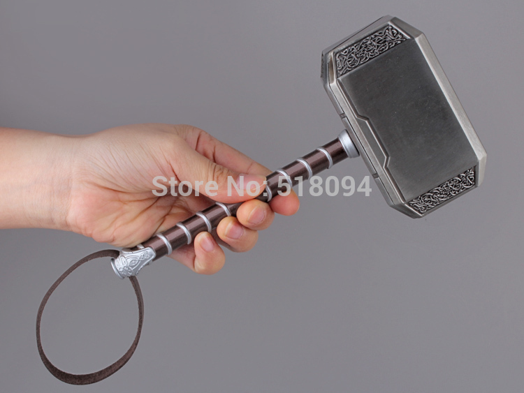 Avengers Thor's Hammer Toys Thor Custome Thor Cosplay Hammer 8 20cm Free Shipping HRFG260 high quality the avengers thor cosplay hammer thor s hammer action figure super hero collection toy ems free shipping