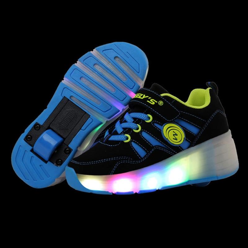 2018 Luminous Sneakers Children Glowing