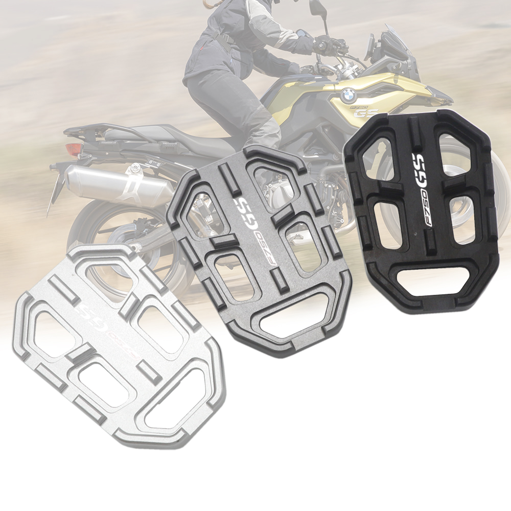 Motorcycle Front Wide Foot Peg Footpeg Enlarger Extender Footrest Pedal CNC For BMW F750GS F850GS G310GS R1200GS LC ADV S1000XR