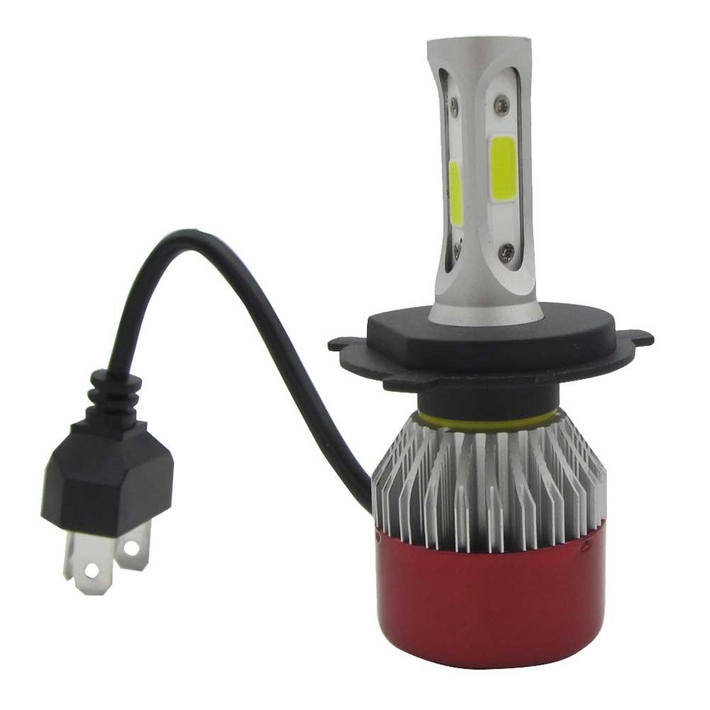 2 ədəd LED Headlight Light H4 Salam / Aşağı şüa LED COB Uzaq - Avtomobil işıqları - Fotoqrafiya 4