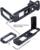 En forma de L Vertical Quick Release Plate/Grip Holder Soporte de La Cámara para Fujifilm Fuji Trípode Rotula X-PRO2-caliente