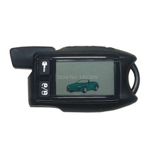 FIRSTARLINE TW 9.5 LCD Remote Control Keychain Fob for Russian Tomahawk 9.5 two way car