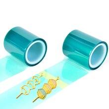 DIY бесшовная клейкая лента для полого металлического каркаса, УФ-полимерный инструмент, Прозрачная силиконовая форма для изготовления ювелирных изделий