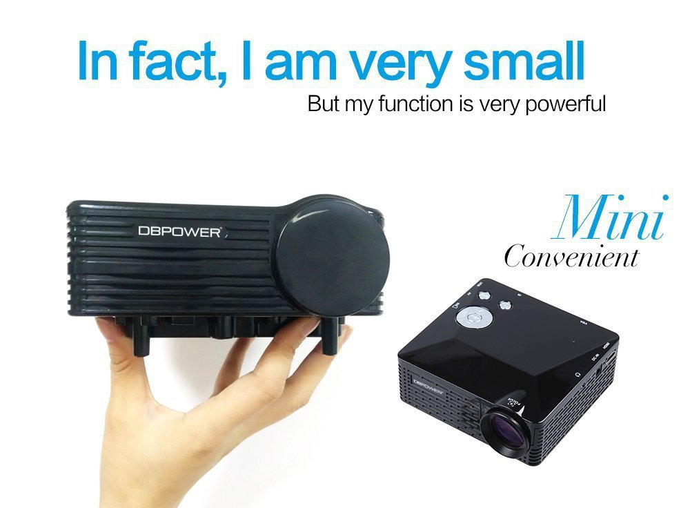 Mini Digital LED Projector BL 18 Pico Portable Proyector Outdoor ...