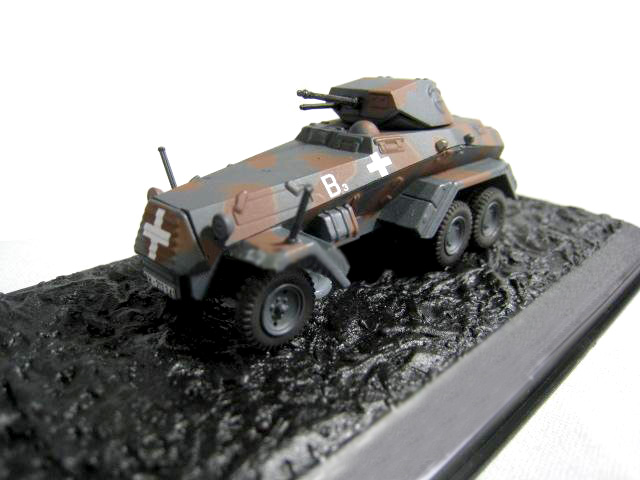 Rare  Special Offer  1:72  Germany  Sd.k 231 Wheeled Armored Vehicle  Blitzkrieg Poland 1939  Alloy Tank  Collection Model