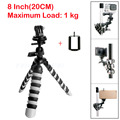 "Mini Mobile Phone Stand Tripod Flexible Octopus Desktop holder Mount Tripod Gorillapod 8"" for iPhone 7 Huawei GoPro camera"