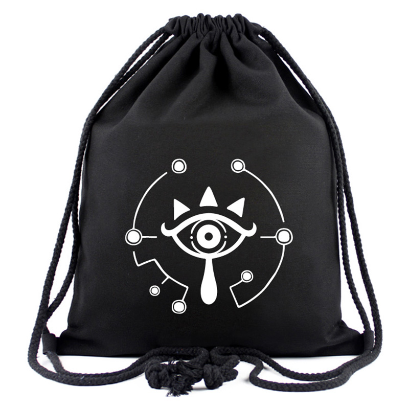 The Legend of Zelda Drawstring Bag Canvas Games Anime Backpack Gifts Young Teenager Casual Travel Bags Drawstring Backpacks все цены