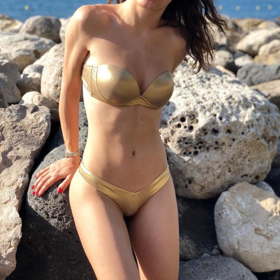 Attraktive Frauen Biquini Badende Bademode Sexy Bikinis Set Tankini Set Leopard Brasilianische Bademode Bezaubernden frauen Badeanzüge