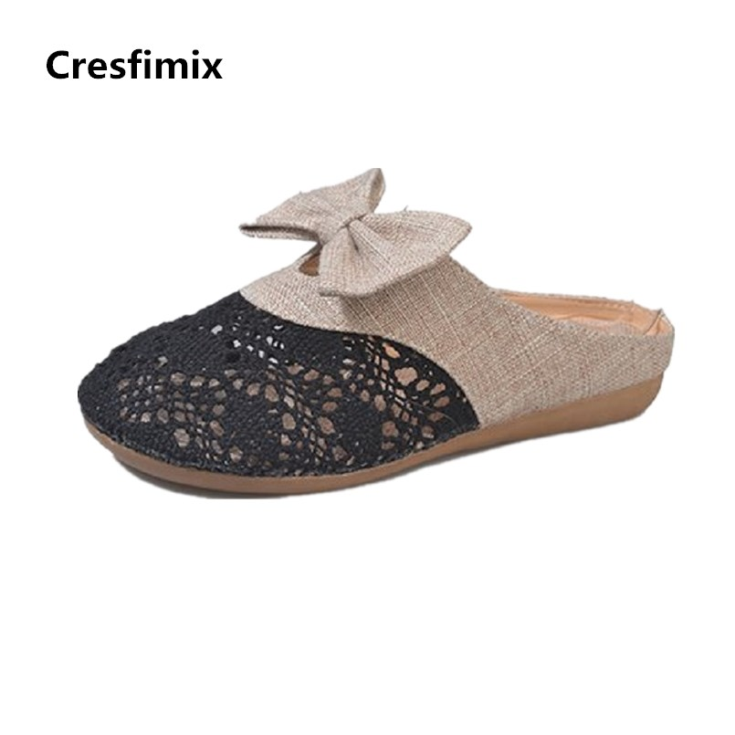 Cresfimix femmes appartements women fashion comfortable mesh breathable flat shoes lady cute beige bow tie shoes zapatos b2859 cresfimix femmes appartements women fashion comfortable mesh breathable flat shoes lady cute beige bow tie shoes zapatos b2859