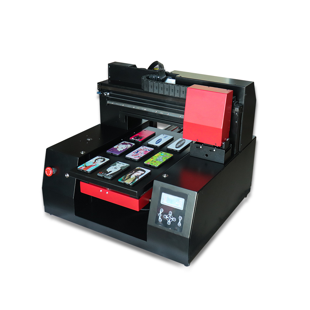2018 automatique A3 3060 UV à plat imprimante bois Machine d'impression coque de téléphone imprimante UV avec 2 tête d'impression avec disparition